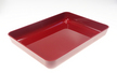 Bac Luran rouge 280x210x40mm ABS