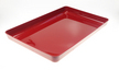 Bac Luran rouge 420x280x40mm ABS