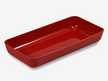 Bac Luran rouge 280x140x40mm ABS